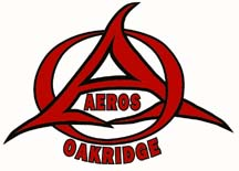 Logo for OAKRIDGE AEROS